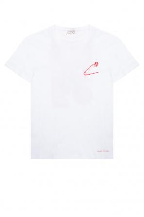Printed t-shirt od Alexander McQueen
