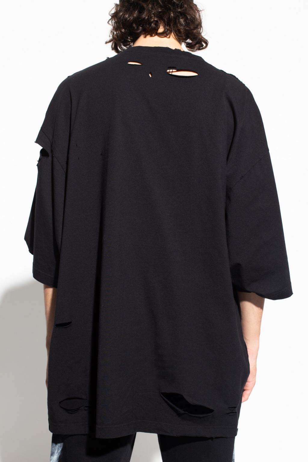 Balenciaga T-shirt with worn effect