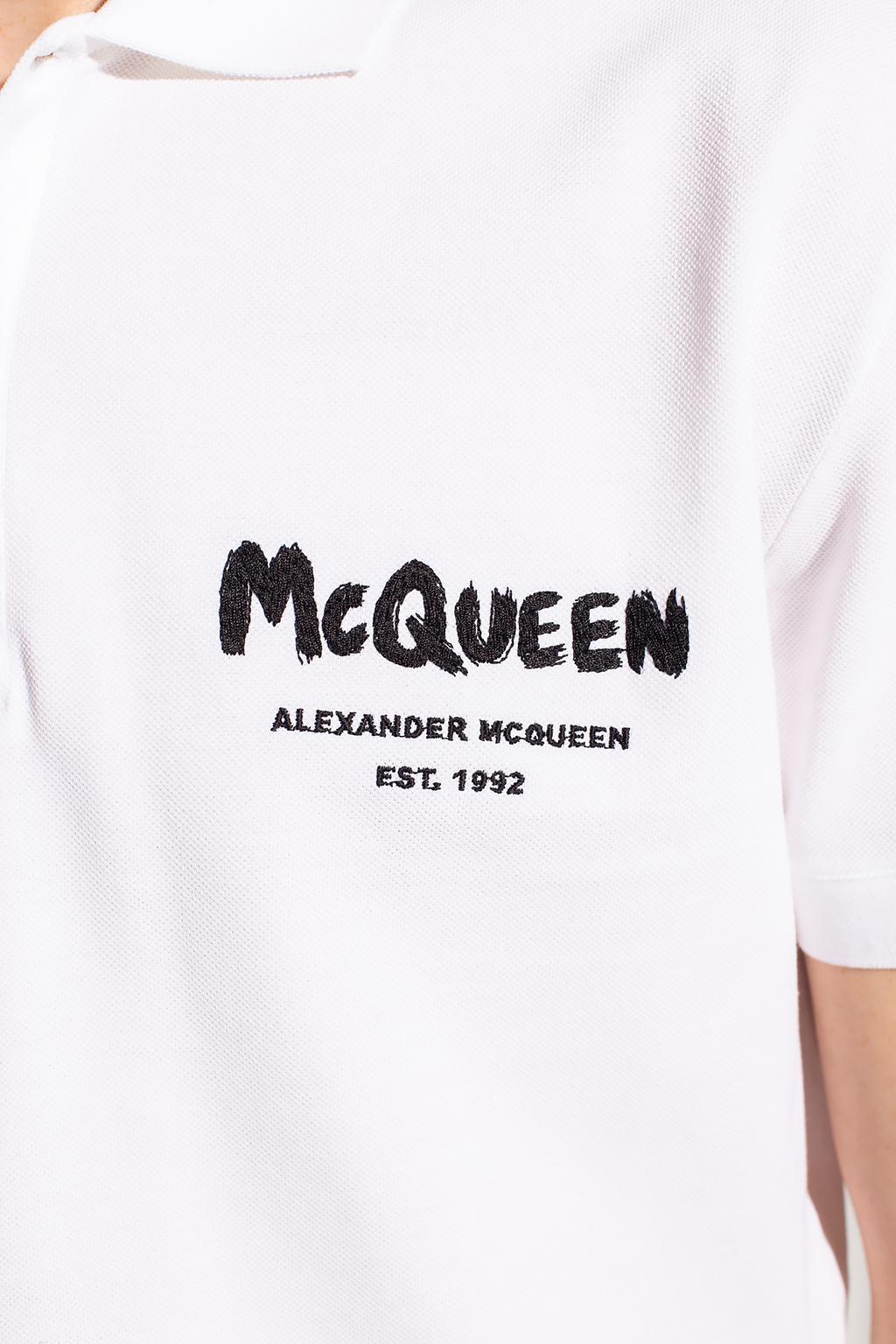 Alexander McQueen Polo shirt with logo