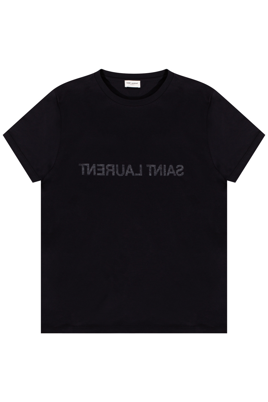 Saint Laurent Logo-printed T-shirt
