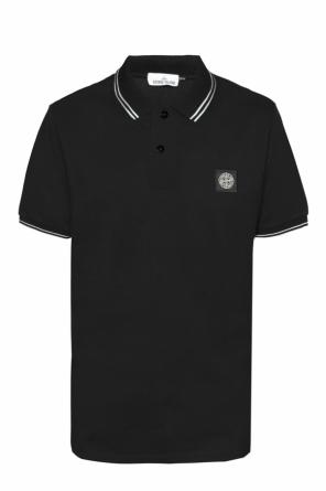 Logo-patched polo od Stone Island