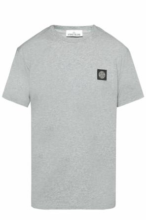 Logo-patched t-shirt od Stone Island