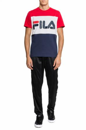 T-shirt with a print and a logo od Fila