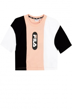 Cropped t-shirt with logo od Fila