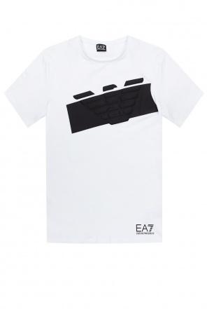 Logo-printed t-shirt od EA7 Emporio Armani