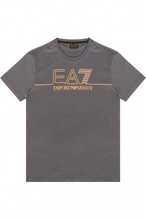 Logo t-shirt od EA7 Emporio Armani