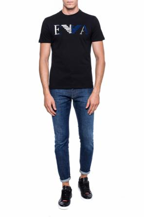 T-shirt with a logo od Emporio Armani