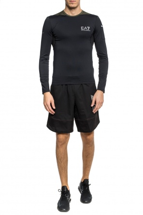 Performance t-shirt with long sleeves od EA7 Emporio Armani