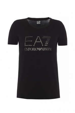 T-shirt with logo od EA7 Emporio Armani