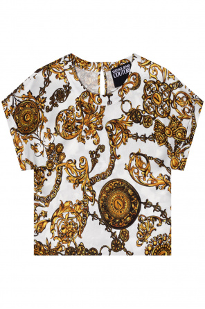 Patterned top od Versace Jeans Couture