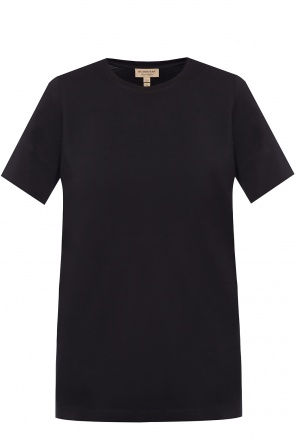 Checked t-shirt od Burberry