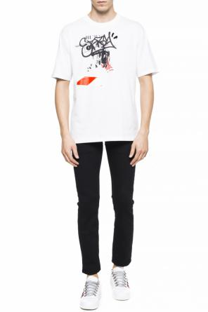 T-shirt with a printed pattern od Burberry