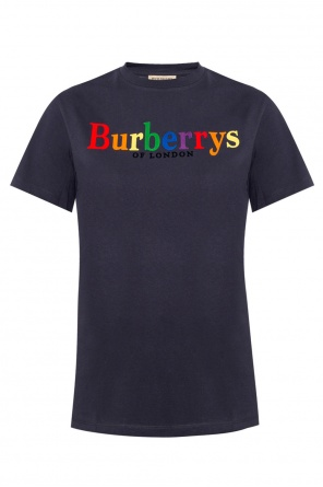 T-shirt with a logo od Burberry