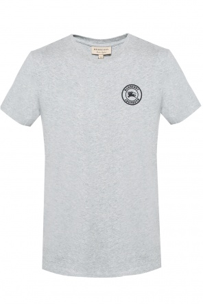T-shirt with an embroidered logo od Burberry