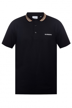 Polo shirt with logo od Burberry