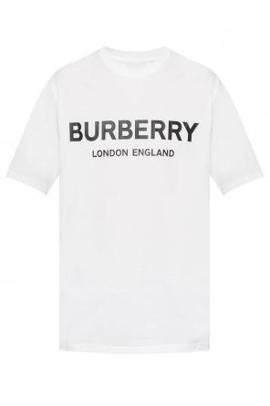 e3d2b9f17e6 ... Logo-printed t-shirt od Burberry