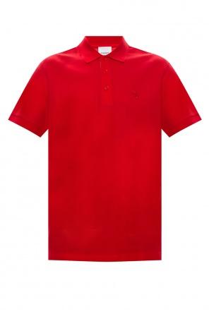 Polo shirt with logo od Burberry