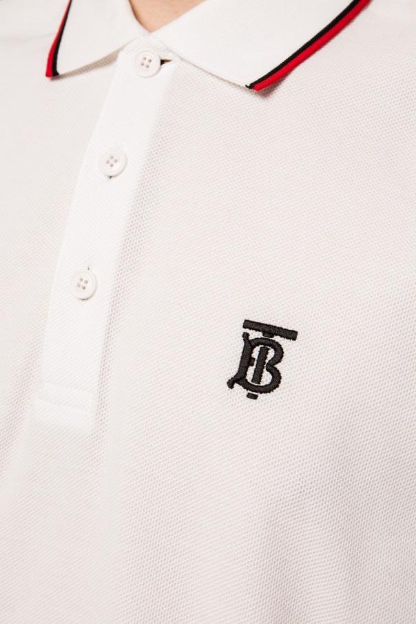 Burberry Polo z wyszytym logo Rqbag818