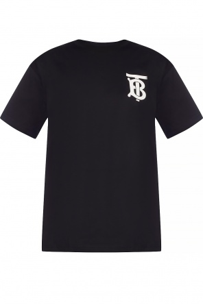 T-shirt with logo od Burberry