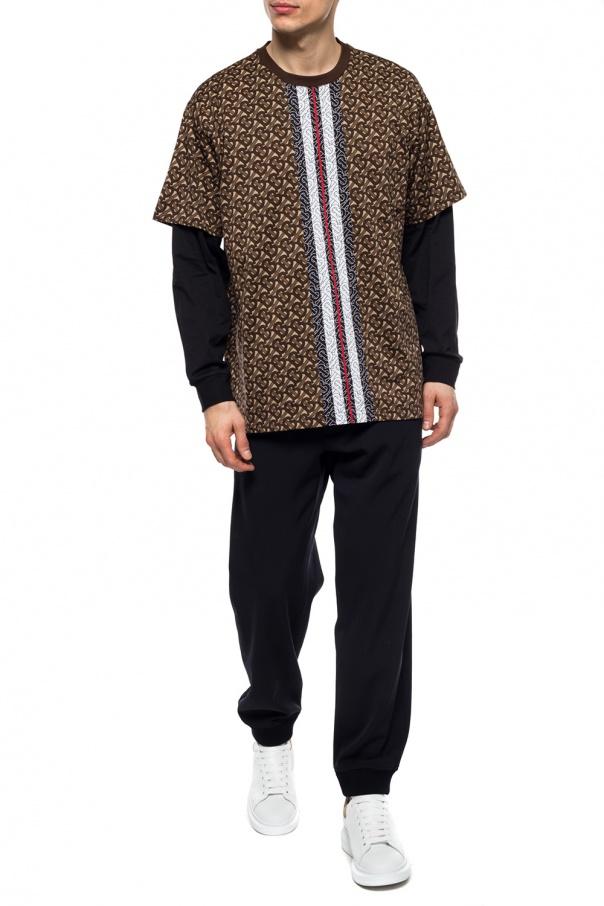 Burberry T-shirt z długimi rękawami BE2qXL33