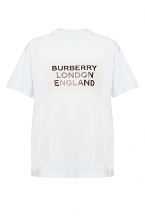 Printed t-shirt od Burberry