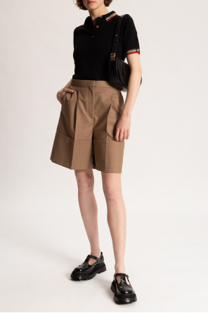 Wool polo shirt od Burberry