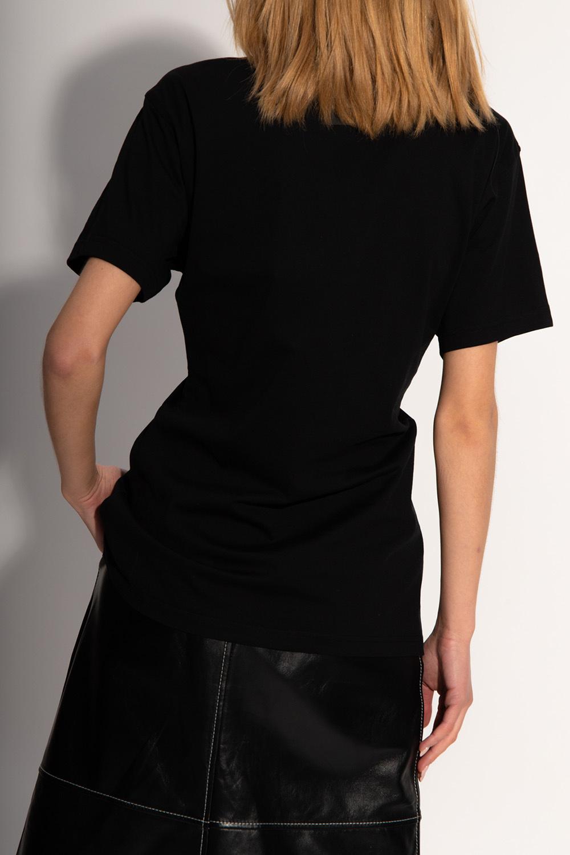 Burberry Appliquéd T-shirt
