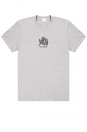 Embroidered t-shirt od Burberry