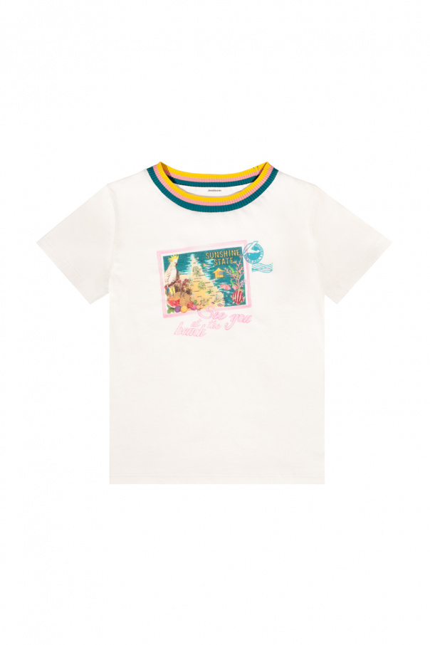 Zimmermann Kids Printed T-shirt