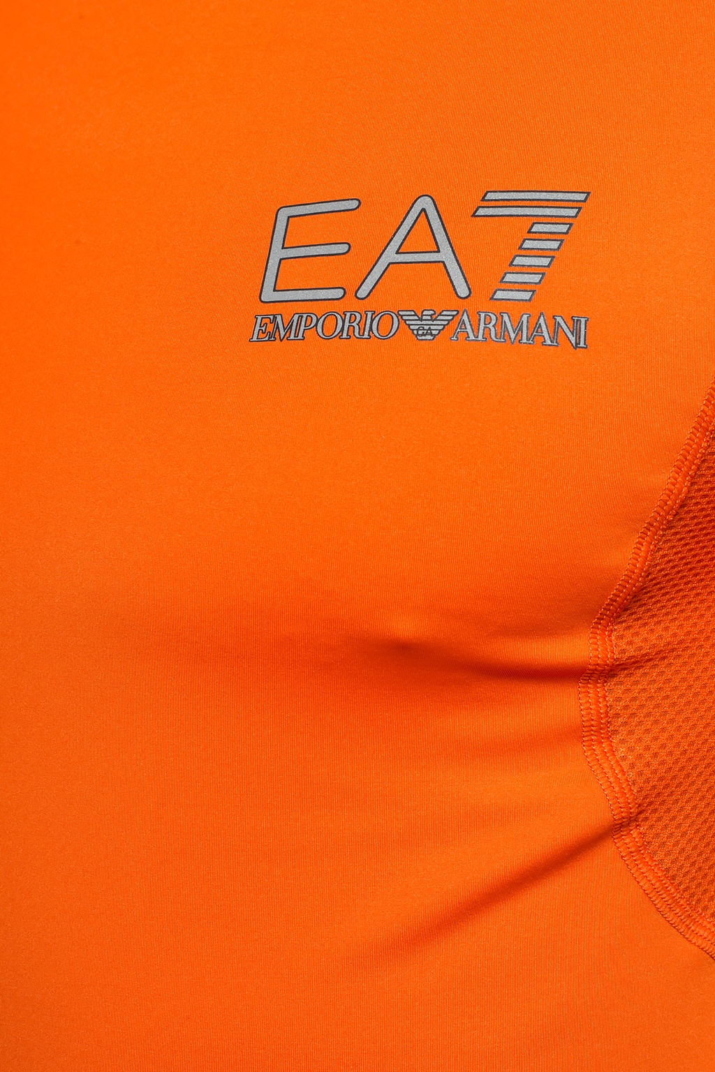 EA7 Emporio Armani T-shirt with a print and a logo