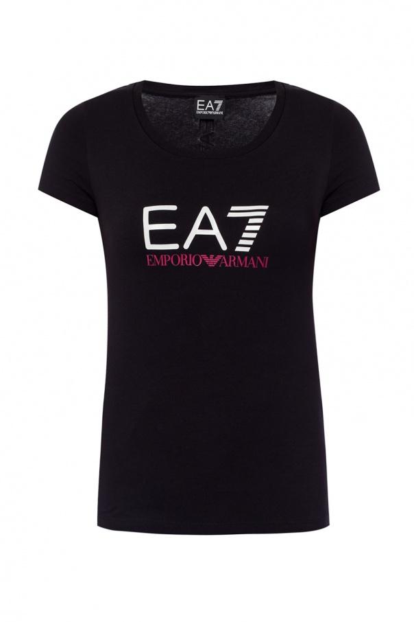 EA7 Emporio Armani Logo-printed T-shirt