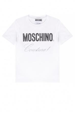 Logo t-shirt od Moschino