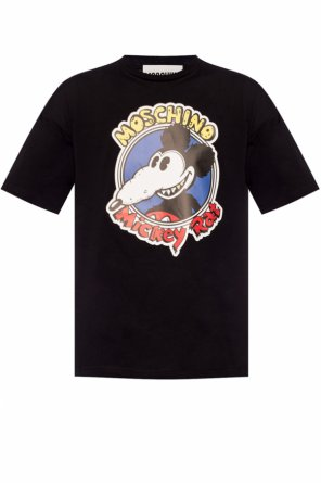 T-shirt with 'mickey rat' print od Moschino