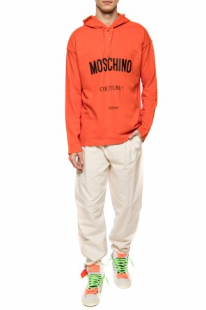 Hooded t-shirt od Moschino