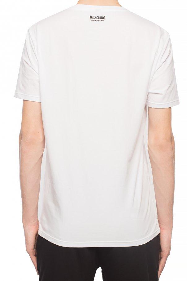 Moschino T-shirt z logo pXm30flV