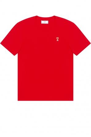 T-shirt with logo od Ami Alexandre Mattiussi
