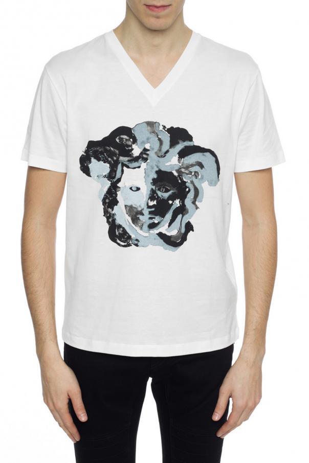 Medusa head-printed T-shirt Versace - Vitkac shop online