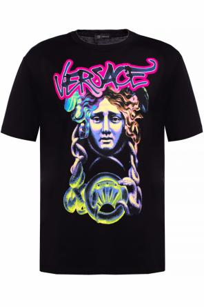 T-shirt with logo od Versace