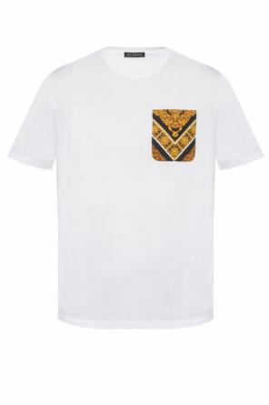 T-shirt with 'baroque' motif od Versace