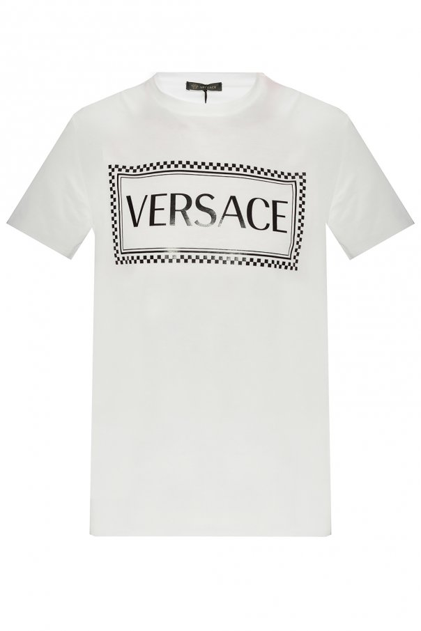 Versace Patched T-shirt