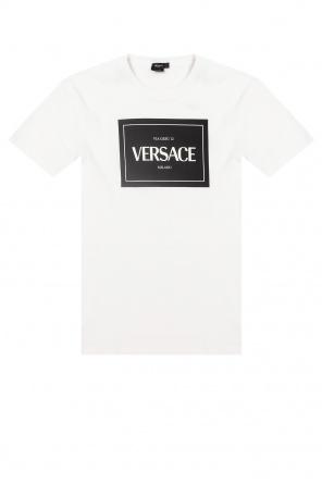 T-shirt z nadrukiem od Versace