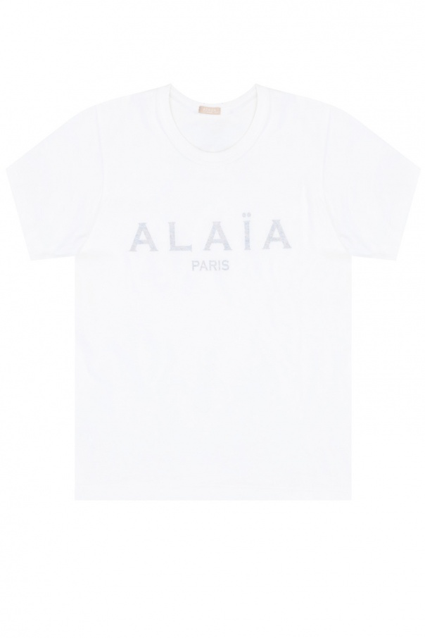 Alaia T-shirt with logo