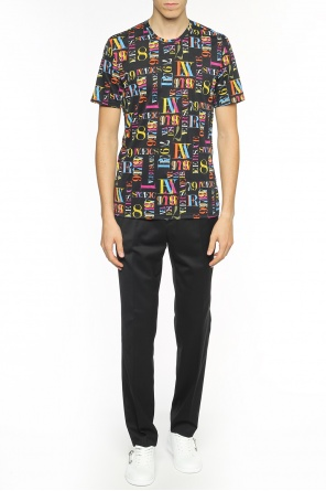 Colourful-printed t-shirt od Versace