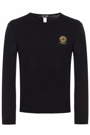 T-shirt with long sleeves od Versace