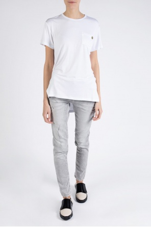 Long asymmetric t-shirt od Versace Jeans
