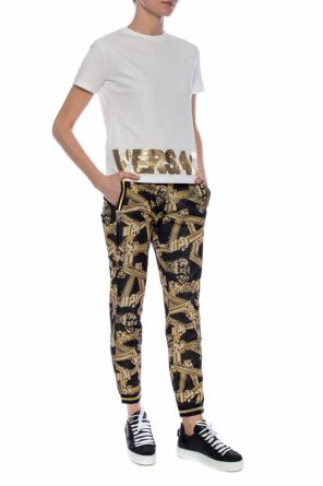 Logo-printed t-shirt od Versace Jeans Couture