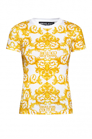Baroque motif t-shirt od Versace Jeans Couture