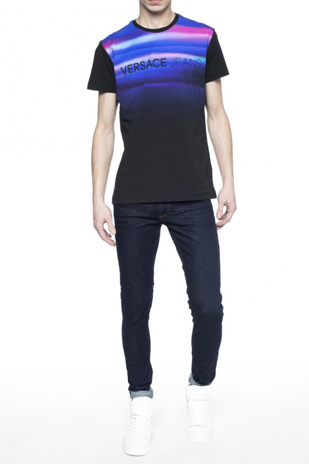8b3d006c Shaded front T-shirt Versace Jeans Couture - Vitkac shop online