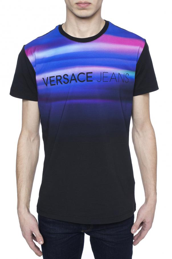 63c82fa6 Shaded front T-shirt Versace Jeans - Vitkac shop online