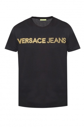 Logo-embroidered t-shirt od Versace Jeans